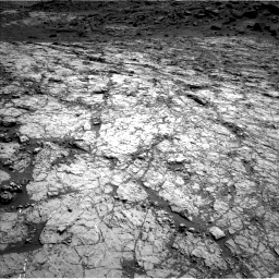 Nasa's Mars rover Curiosity acquired this image using its Left Navigation Camera on Sol 1431, at drive 1986, site number 56