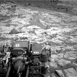 Nasa's Mars rover Curiosity acquired this image using its Left Navigation Camera on Sol 1431, at drive 1998, site number 56