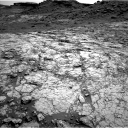 Nasa's Mars rover Curiosity acquired this image using its Left Navigation Camera on Sol 1431, at drive 2004, site number 56