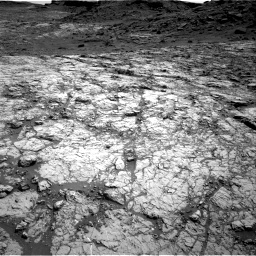 Nasa's Mars rover Curiosity acquired this image using its Right Navigation Camera on Sol 1431, at drive 1998, site number 56