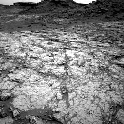 Nasa's Mars rover Curiosity acquired this image using its Right Navigation Camera on Sol 1431, at drive 2004, site number 56