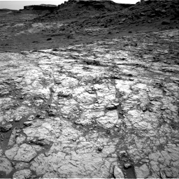 Nasa's Mars rover Curiosity acquired this image using its Right Navigation Camera on Sol 1431, at drive 2010, site number 56