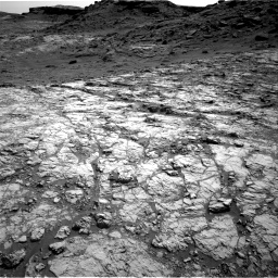 Nasa's Mars rover Curiosity acquired this image using its Right Navigation Camera on Sol 1431, at drive 2016, site number 56