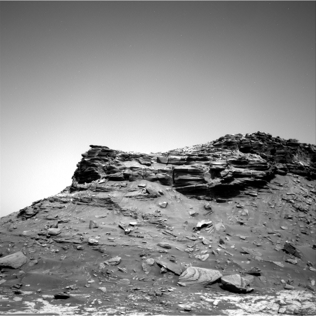 Nasa's Mars rover Curiosity acquired this image using its Right Navigation Camera on Sol 1431, at drive 2034, site number 56