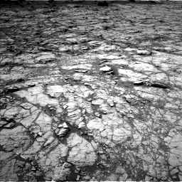Nasa's Mars rover Curiosity acquired this image using its Left Navigation Camera on Sol 1432, at drive 2040, site number 56