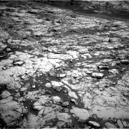 Nasa's Mars rover Curiosity acquired this image using its Left Navigation Camera on Sol 1432, at drive 2070, site number 56