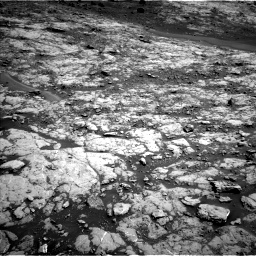 Nasa's Mars rover Curiosity acquired this image using its Left Navigation Camera on Sol 1432, at drive 2076, site number 56