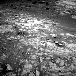 Nasa's Mars rover Curiosity acquired this image using its Left Navigation Camera on Sol 1432, at drive 2118, site number 56