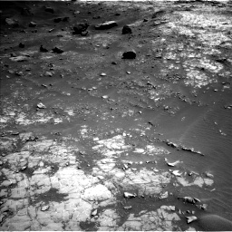 Nasa's Mars rover Curiosity acquired this image using its Left Navigation Camera on Sol 1432, at drive 2142, site number 56