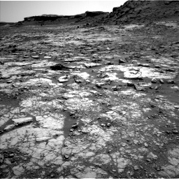 Nasa's Mars rover Curiosity acquired this image using its Left Navigation Camera on Sol 1432, at drive 2214, site number 56