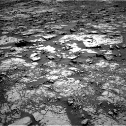 Nasa's Mars rover Curiosity acquired this image using its Left Navigation Camera on Sol 1432, at drive 2226, site number 56