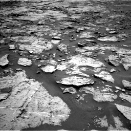 Nasa's Mars rover Curiosity acquired this image using its Left Navigation Camera on Sol 1432, at drive 2286, site number 56