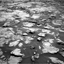 Nasa's Mars rover Curiosity acquired this image using its Left Navigation Camera on Sol 1432, at drive 2310, site number 56