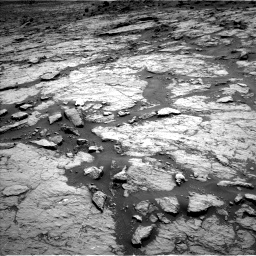 Nasa's Mars rover Curiosity acquired this image using its Left Navigation Camera on Sol 1432, at drive 2340, site number 56