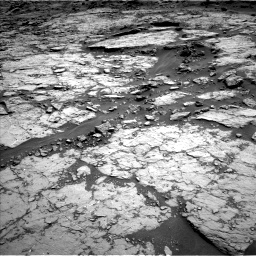 Nasa's Mars rover Curiosity acquired this image using its Left Navigation Camera on Sol 1432, at drive 2376, site number 56