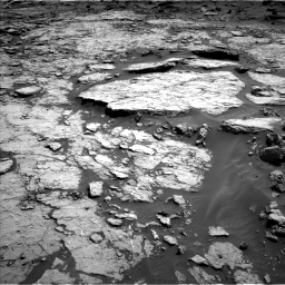 Nasa's Mars rover Curiosity acquired this image using its Left Navigation Camera on Sol 1432, at drive 2406, site number 56