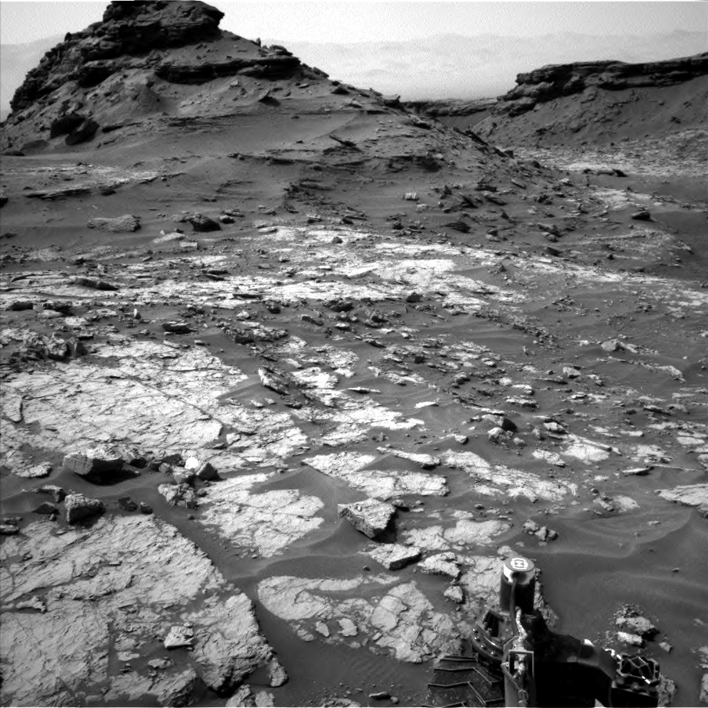 Nasa's Mars rover Curiosity acquired this image using its Left Navigation Camera on Sol 1432, at drive 2428, site number 56
