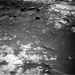 Nasa's Mars rover Curiosity acquired this image using its Right Navigation Camera on Sol 1432, at drive 2142, site number 56