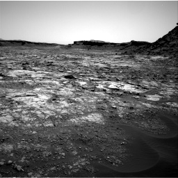 Nasa's Mars rover Curiosity acquired this image using its Right Navigation Camera on Sol 1432, at drive 2190, site number 56