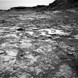 Nasa's Mars rover Curiosity acquired this image using its Right Navigation Camera on Sol 1432, at drive 2214, site number 56
