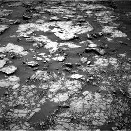 Nasa's Mars rover Curiosity acquired this image using its Right Navigation Camera on Sol 1432, at drive 2244, site number 56