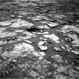 Nasa's Mars rover Curiosity acquired this image using its Right Navigation Camera on Sol 1432, at drive 2262, site number 56
