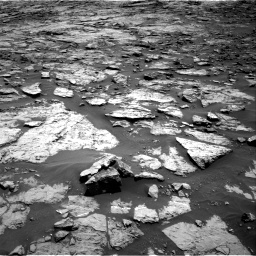 Nasa's Mars rover Curiosity acquired this image using its Right Navigation Camera on Sol 1432, at drive 2274, site number 56