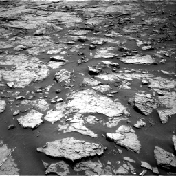 Nasa's Mars rover Curiosity acquired this image using its Right Navigation Camera on Sol 1432, at drive 2292, site number 56