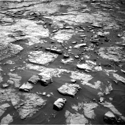 Nasa's Mars rover Curiosity acquired this image using its Right Navigation Camera on Sol 1432, at drive 2316, site number 56