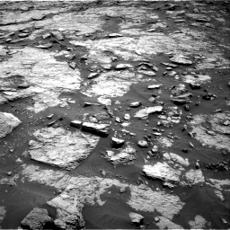 Nasa's Mars rover Curiosity acquired this image using its Right Navigation Camera on Sol 1432, at drive 2322, site number 56
