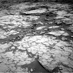 Nasa's Mars rover Curiosity acquired this image using its Right Navigation Camera on Sol 1432, at drive 2370, site number 56