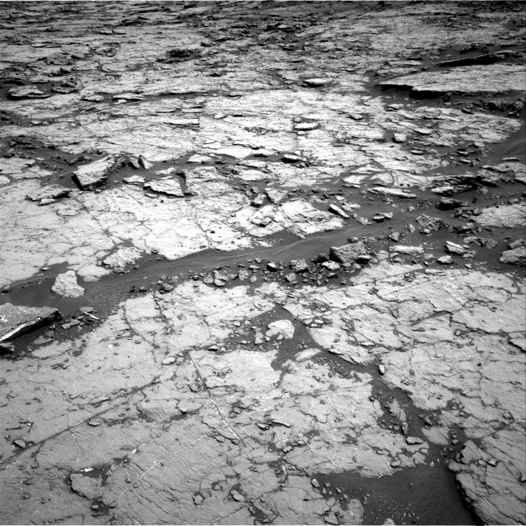 Nasa's Mars rover Curiosity acquired this image using its Right Navigation Camera on Sol 1432, at drive 2376, site number 56
