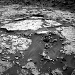 Nasa's Mars rover Curiosity acquired this image using its Right Navigation Camera on Sol 1432, at drive 2400, site number 56