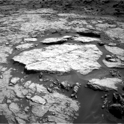 Nasa's Mars rover Curiosity acquired this image using its Right Navigation Camera on Sol 1432, at drive 2412, site number 56