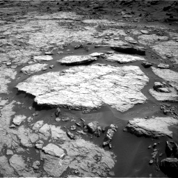 Nasa's Mars rover Curiosity acquired this image using its Right Navigation Camera on Sol 1432, at drive 2418, site number 56