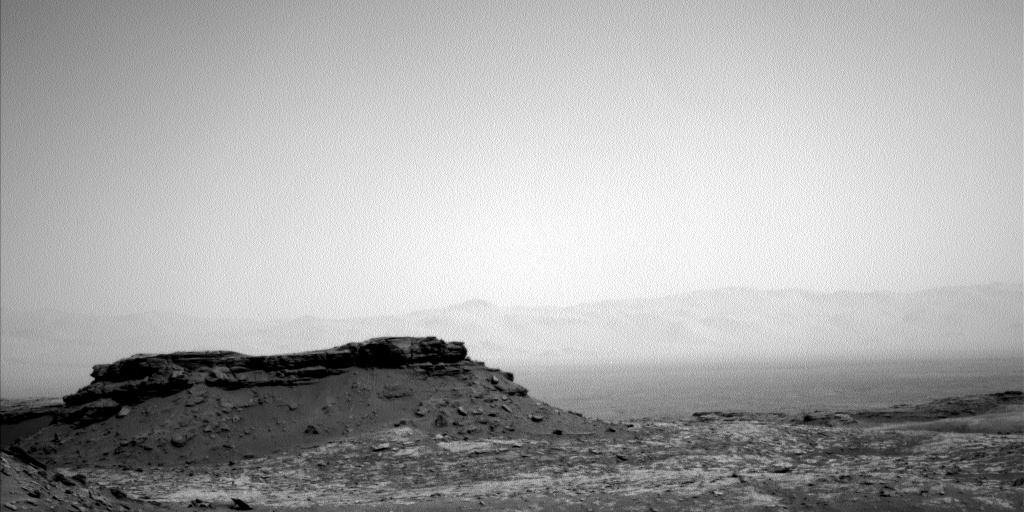 Nasa's Mars rover Curiosity acquired this image using its Left Navigation Camera on Sol 1433, at drive 2428, site number 56