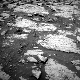 Nasa's Mars rover Curiosity acquired this image using its Left Navigation Camera on Sol 1433, at drive 2566, site number 56