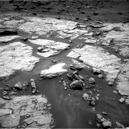 Nasa's Mars rover Curiosity acquired this image using its Right Navigation Camera on Sol 1433, at drive 2428, site number 56