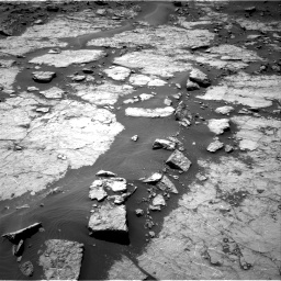 Nasa's Mars rover Curiosity acquired this image using its Right Navigation Camera on Sol 1433, at drive 2500, site number 56
