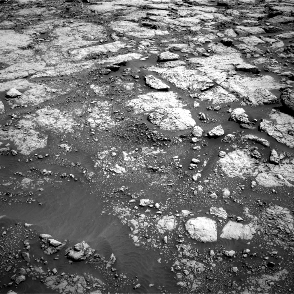 Nasa's Mars rover Curiosity acquired this image using its Right Navigation Camera on Sol 1433, at drive 2590, site number 56