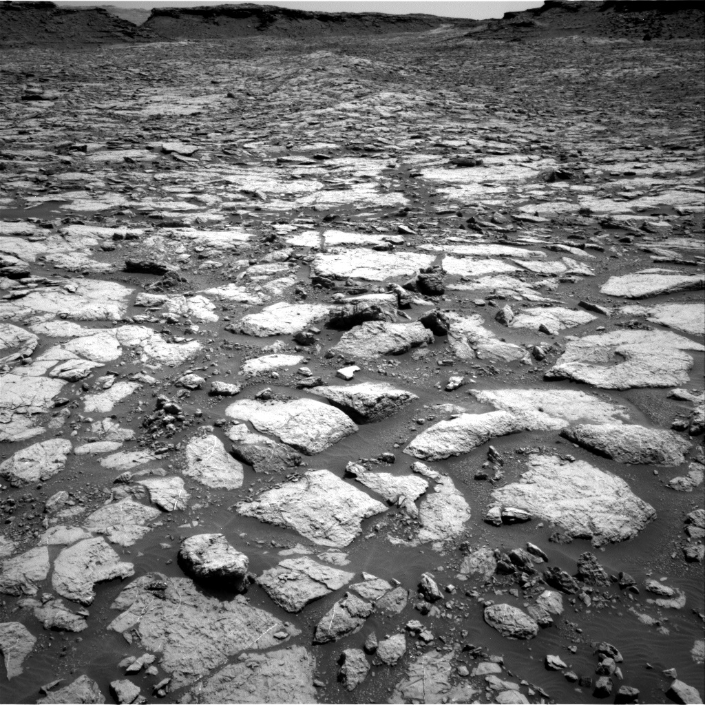 Nasa's Mars rover Curiosity acquired this image using its Right Navigation Camera on Sol 1433, at drive 0, site number 57