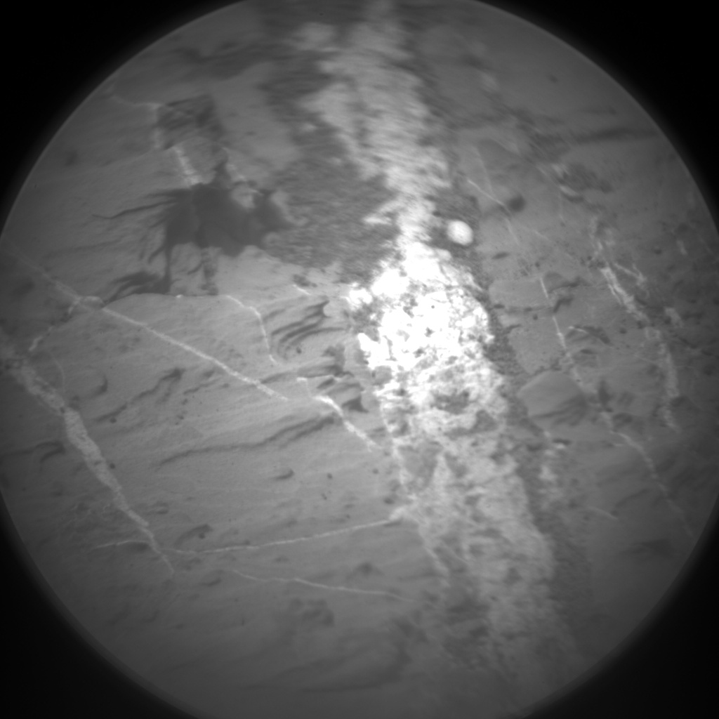 Nasa's Mars rover Curiosity acquired this image using its Chemistry & Camera (ChemCam) on Sol 1434, at drive 0, site number 57