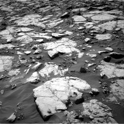 Nasa's Mars rover Curiosity acquired this image using its Right Navigation Camera on Sol 1434, at drive 0, site number 57