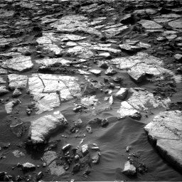 Nasa's Mars rover Curiosity acquired this image using its Right Navigation Camera on Sol 1434, at drive 24, site number 57