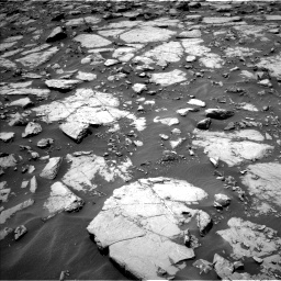 Nasa's Mars rover Curiosity acquired this image using its Left Navigation Camera on Sol 1435, at drive 36, site number 57