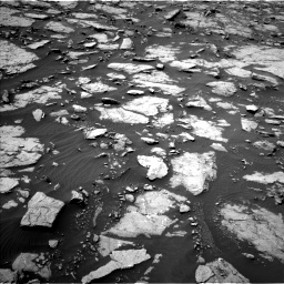 Nasa's Mars rover Curiosity acquired this image using its Left Navigation Camera on Sol 1435, at drive 114, site number 57