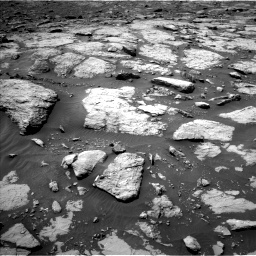 Nasa's Mars rover Curiosity acquired this image using its Left Navigation Camera on Sol 1435, at drive 156, site number 57