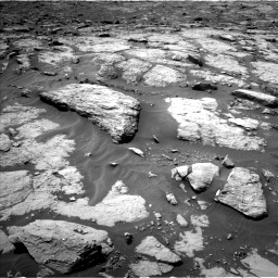 Nasa's Mars rover Curiosity acquired this image using its Left Navigation Camera on Sol 1435, at drive 162, site number 57