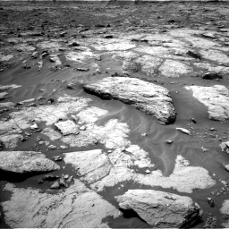 Nasa's Mars rover Curiosity acquired this image using its Left Navigation Camera on Sol 1435, at drive 168, site number 57
