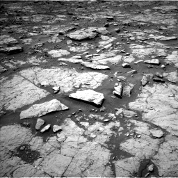 Nasa's Mars rover Curiosity acquired this image using its Left Navigation Camera on Sol 1435, at drive 240, site number 57